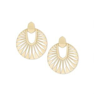 Kendra Scott Did Sunburst Earrings in Gold